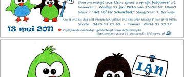 Drukkerij Magenta - Beringen - Geboortedrukwerk